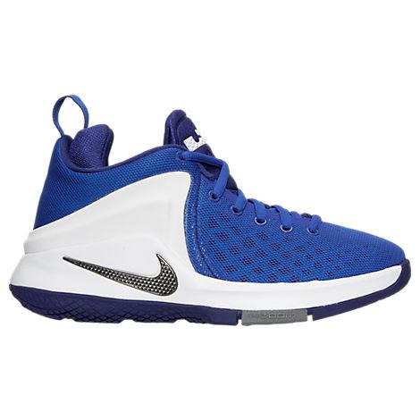 Boys' Grade School Nike LeBron Zoom Witness Basketball Shoes