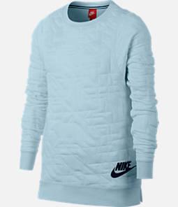 Girls' Nike Sportswear Crew Sweatshirt Product Image