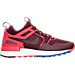 Right view of Women's Nike Air Pegasus '89 Tech Casual Shoes in Night Maroon/Ember Glow/Persian Violet