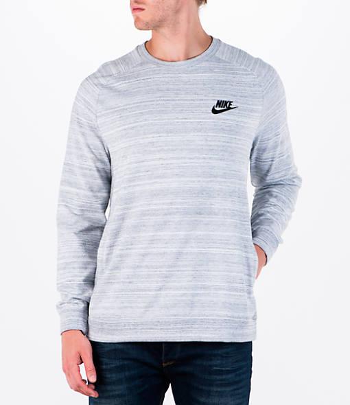 Men's Nike AV15 Knit Crew Sweatshirt