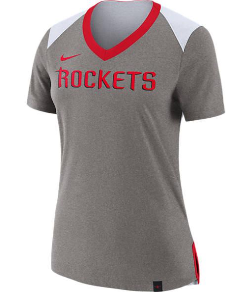 Women's Nike Houston Rockets NBA Basketball Fan Top