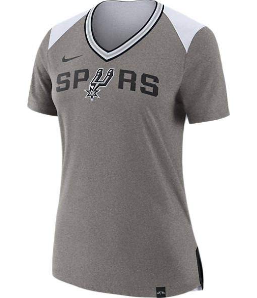 Women's Nike San Antonio Spurs NBA Basketball Fan Top