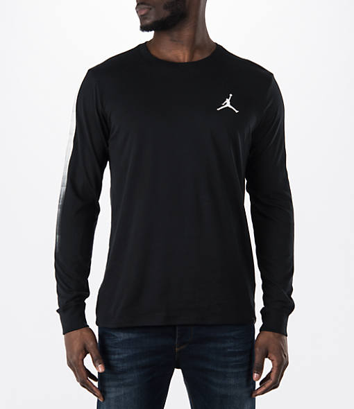 Men's Air Jordan Scotch Long-Sleeve T-Shirt