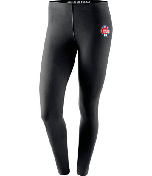 Women's Nike Detroit Pistons NBA Leg-A-See Tights