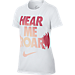 Girls' Nike Dry Hear Me Roar T-Shirt Product Image