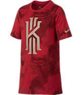 Boys' Nike Dry Kyrie Camo T-Shirt