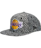 New Era Los Angeles Lakers NBA Boost Hook Snapback Hat