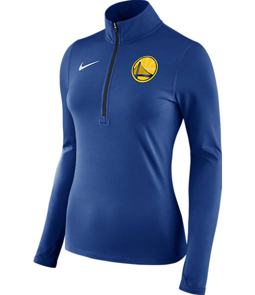 Women's Nike Golden State Warriors NBA Dry Element Half-Zip Top