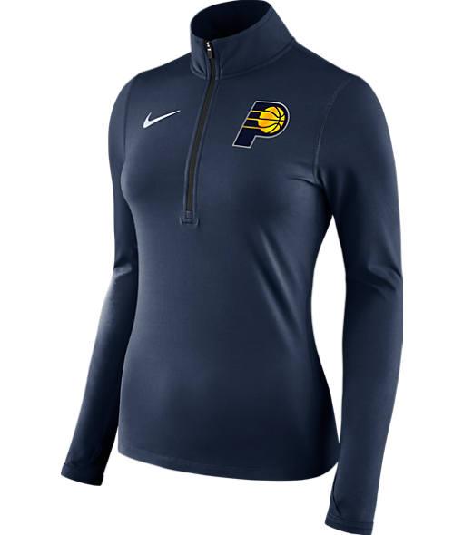 Women's Nike Indiana Pacers NBA Dry Element Half-Zip Top