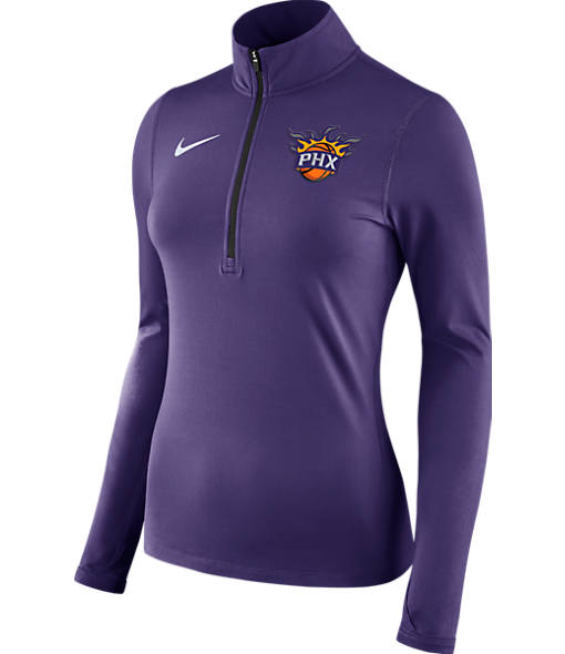 Women's Nike Phoenix Suns NBA Dry Element Half-Zip Top