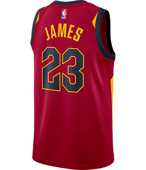 Men's Nike Cleveland Cavaliers NBA LeBron James Icon Edition Connected Jersey