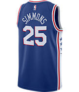 Men's Nike Philadelphia 76ers NBA Ben Simmons Icon Edition Connected Jersey