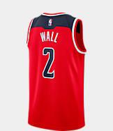 Men's Nike Washington Wizards NBA John Wall Icon Edition Connected Jersey