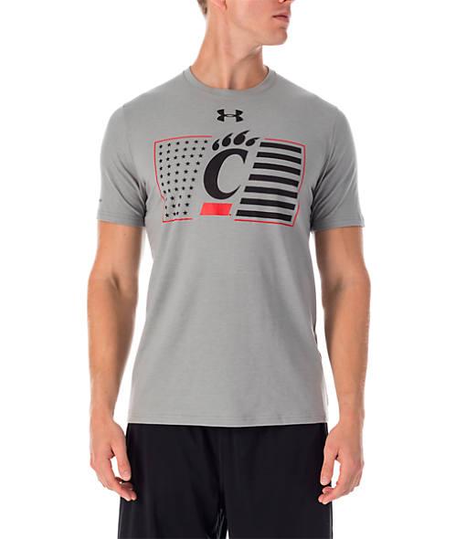 Men's Under Armour Cincinnati Bearcats College Charged Cotton T-Shirt