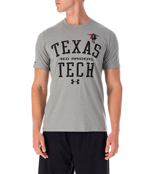 Men's Under Armour Texas Tech Red Raiders College Charged Cotton T-Shirt