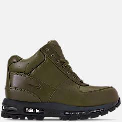나이키 맨 Mens Nike Air Max Goadome Boots,Olive Canvas/Anthracite