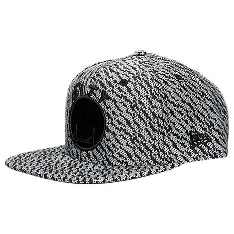 New Era Golden State Warriors NBA Boost Hook Snapback Hat