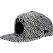 Front view of New Era Golden State Warriors NBA Boost Hook Snapback Hat in Grey