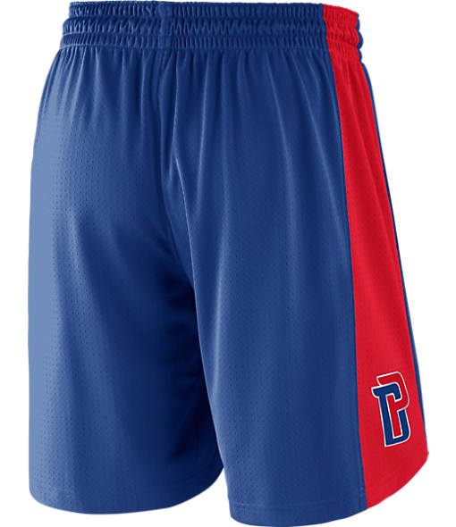 Men's Nike Detroit Pistons NBA Practice Shorts