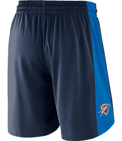 Men's Nike Oklahoma City Thunder NBA Practice Shorts