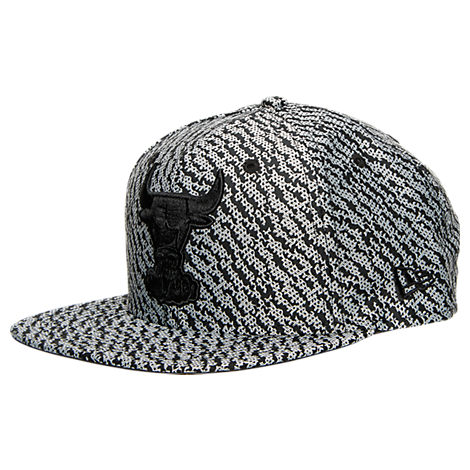 New Era Chicago Bulls NBA Boost Hook Snapback Hat