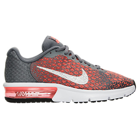 Boys' Grade School Nike Air Max Sequent 2 Running Shoes