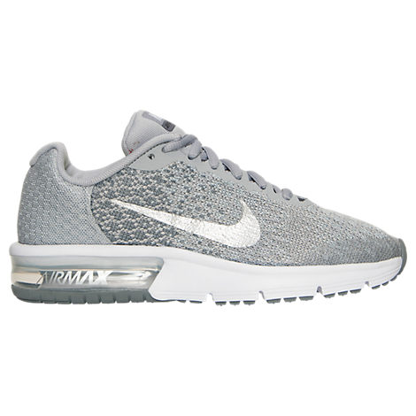 Girls' Grade School Nike Air Max Sequent 2 Running Shoes