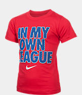Boys' Preschool Nike In My Own League T-Shirt