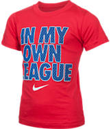 Boys' Preschool Nike In My Own League T-Shirt