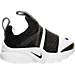 Right view of Boys' Toddler Nike Presto Extreme Running Shoes in White/Black