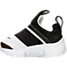 Left view of Boys' Toddler Nike Presto Extreme Running Shoes in White/Black