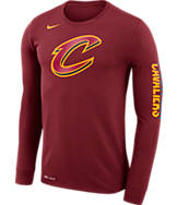 Men's Nike Cleveland Cavaliers NBA Logo Long-Sleeve T-Shirt