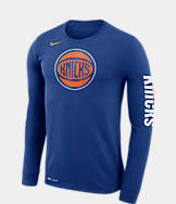 Men's Nike New York Knicks NBA Logo Long-Sleeve T-Shirt