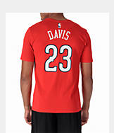 Men's Nike New Orleans Pelicans NBA Anthony Davis Name and Number T-Shirt