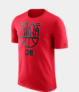 Men's Nike Chicago Bulls NBA Dry Cityscape T-Shirt
