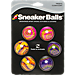 Back view of Sof Sole Sneaker Balls 6-Pack Radical Tie Dye in Radial Tie Dye