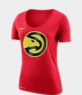 Women's Nike Atlanta Hawks NBA Dry Logo T-Shirt