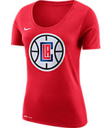 Women's Nike Los Angeles Clippers NBA Dry Logo T-Shirt