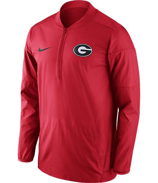 Men's Nike Georgia Bulldogs College Lockdown Quarter-Zip Jacket