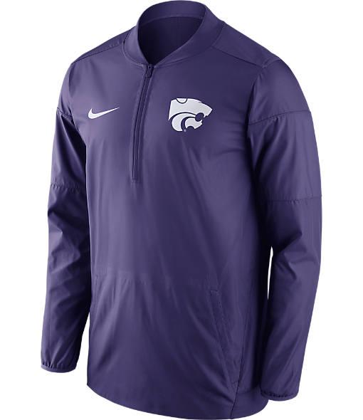 Men's Nike Kansas State Wildcats College Lockdown Quarter-Zip Jacket