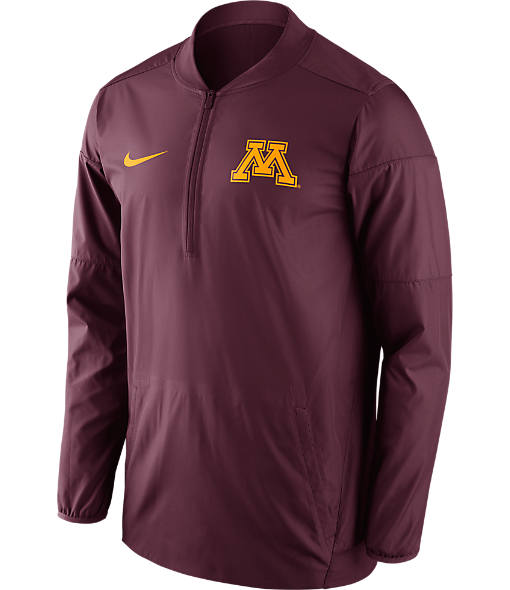Men's Nike Minnesota Golden Gophers College Lockdown Quarter-Zip Jacket