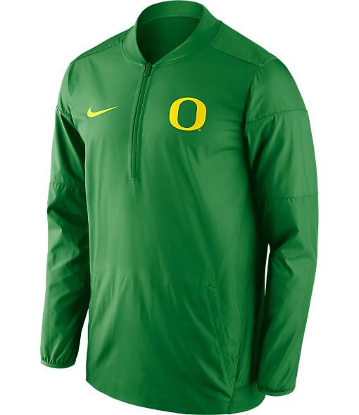 Men's Nike Oregon Ducks College Lockdown Quarter-Zip Jacket