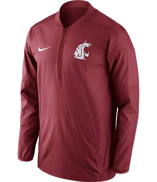 Men's Nike Washington State Cougars College Lockdown Quarter-Zip Jacket