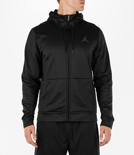 Men's Air Jordan 23 Alpha Therma Full-Zip Training Hoodie