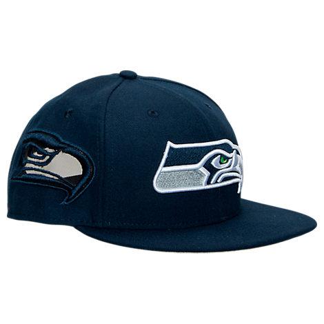 New Era Seattle Seahawks NFL Fresh Side Snapback Hat