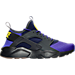 Right view of Men's Nike Air Huarache Run Ultra SE Casual Shoes in Anthracite/Paramount Blue