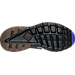 Bottom view of Men's Nike Air Huarache Run Ultra SE Casual Shoes in Anthracite/Paramount Blue