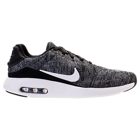 blue air max shox nike flyknit racer women's black white World