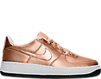 Girls' Grade School Nike Air Force 1 Casual Shoes