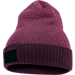 Front view of Women's Nike Sportswear Cuff Knit Beanie Hat in Tea Berry/Port Wine